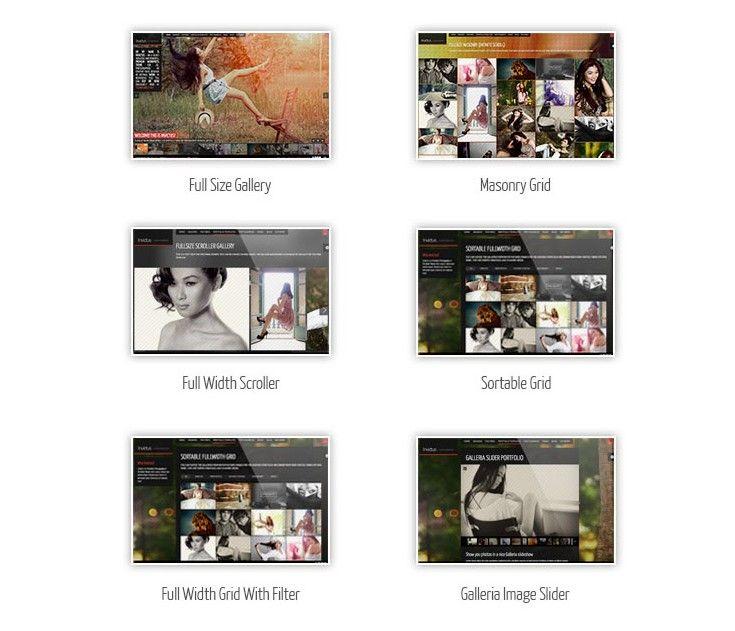 Tipos de Galeria WordPress