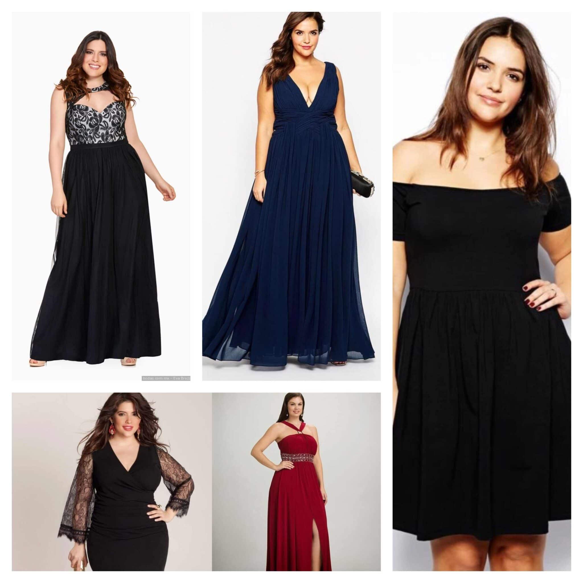 d60a94db2 ▷ Mejores vestidos de noche para gorditas    Modelos 2019