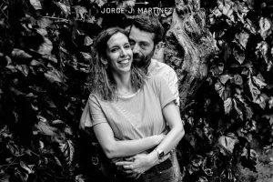 fotografia de una pareja en su preboda
