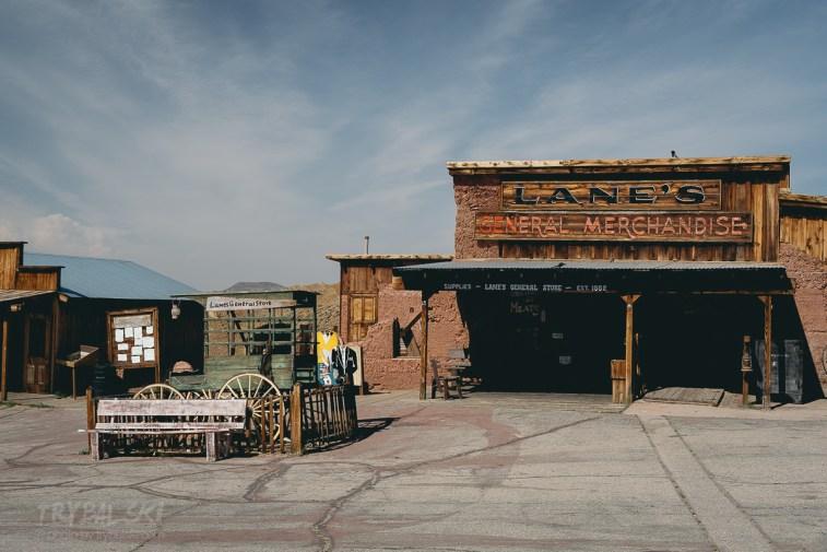 Calico Ghost Town, dawna kopalnia srebra