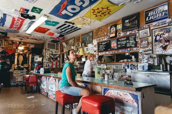 Bagdad Cafe w Newberry Springs,