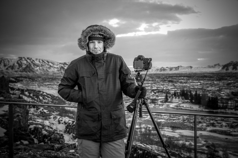 Zima na Islandii