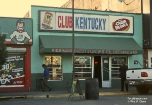The Kentucky Club on Avenida Juárez. © William P. Diven.
