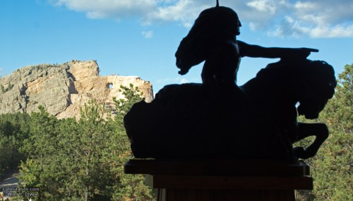 The Crazy Horse Monument, Native America's answer to Mount Rushmore, takes shape on tribal land near Custer, S.D.