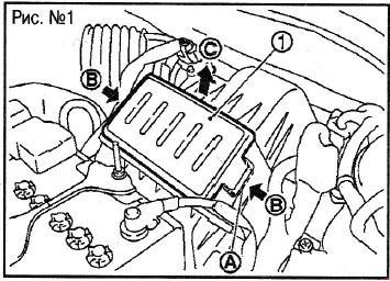 Замена воздушного фильтра на Nissan Note (E11) с