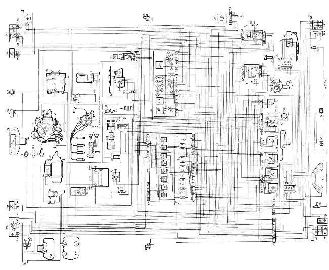 Схема электрооборудования Skoda Favorit и Forman » Схемы