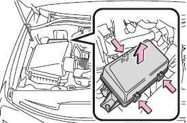 '07-'17 Toyota Land Cruiser 200 Fuse Diagram