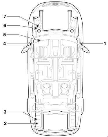 Volkswagen Passat B6 схема предохранителей (2005-2010)