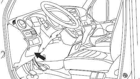 2006-2011 Iveco Daily IV Fuse Box Diagram » Fuse Diagram