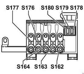 2002 jetta fuse box diagram 2006 dodge magnum stereo wiring 1999 volkswagen golf iv bora
