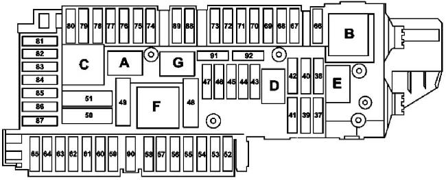 2007 Mercedes Benz S550 Fuse Box Diagram
