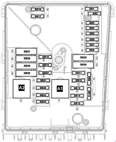 2002 volkswagen jetta radio wiring diagram 2004 bmw x5 ac 2005-2008 caddy fuse box »