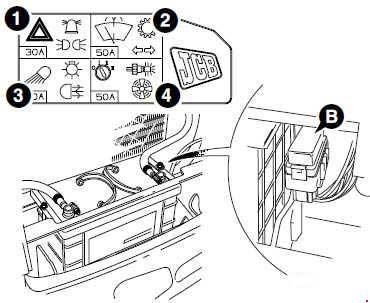 Jcb Fuse Box Diagram - Wiring Diagram Ops Jcb Wiring Schematic on
