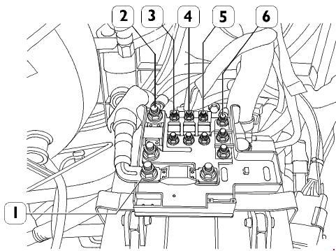 2011–2014 Iveco Daily V Fuse Box Diagram » Fuse Diagram