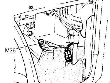 Схема предохранителей и реле Hyundai H100 / Porter (AH; до
