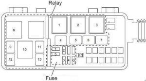 ISUZU FUSE DIAGRAM  Auto Electrical Wiring Diagram