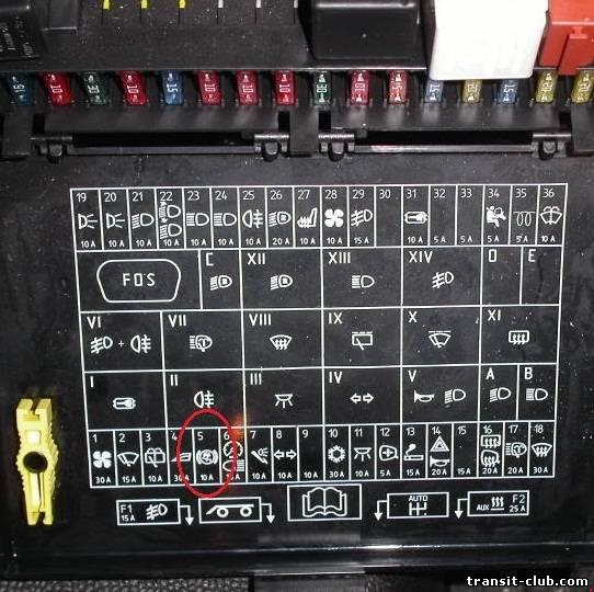 1995 Chevy Astro Airbag Relay Fuse Box Diagram