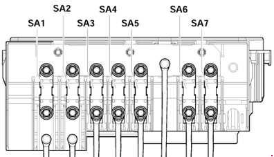 2003–2009 Volkswagen Golf Mk5 (1K) Fuse Box Diagram » Fuse