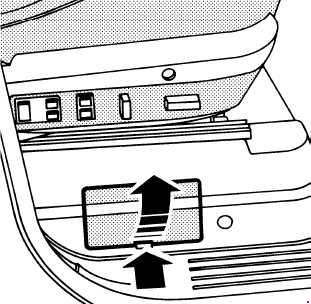 '94-'02 Range Rover (P38A) Fuse Box Diagram