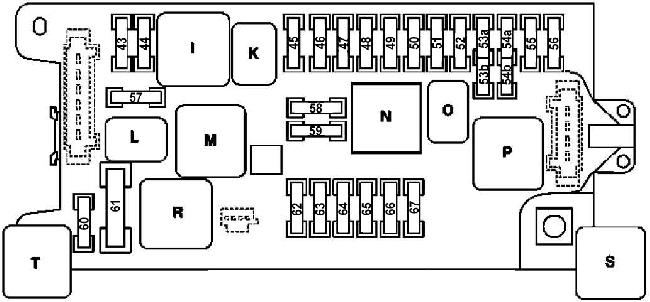 '02-'09 Mercedes E-Class (W211) Fuse Box Diagram