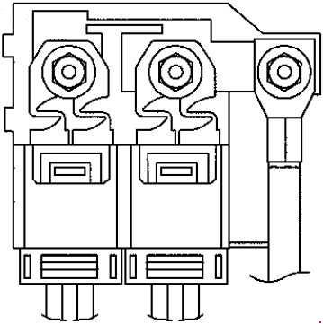 Smart Fortwo / Forfour fuse box diagram (A453, C453, W453