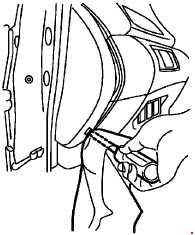 '14-'18 Nissan X-Trail T32 fuse box diagram
