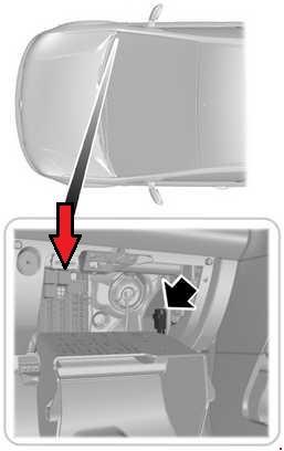 2012 Ford Focus Horn Location : focus, location, 02-'12, Fusion, Diagram