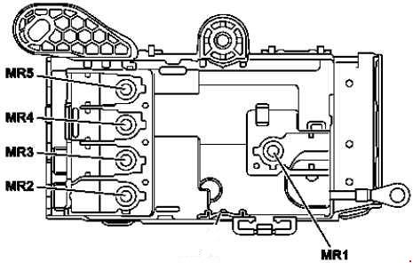 '14-'18 Mercedes W222 & C217 Fuse Box Diagram