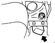 Komatsu PC25-1, PC30-7, PC40-7, PC45-1 Fuse Box Diagram