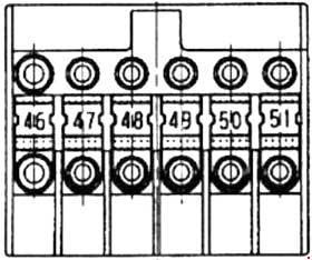 Схема предохранителей и реле Mercedes-Benz Vaneo (W414