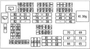 20052010 BMW 3 (E90, E91, E92, E93) Fuse Box Diagram » Fuse Diagram