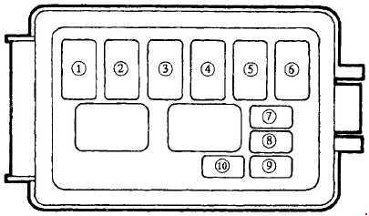 1991 mazda miata fuse box diagram 89 240sx ignition wiring relay schematic diagram1989 u20131997 mx 5