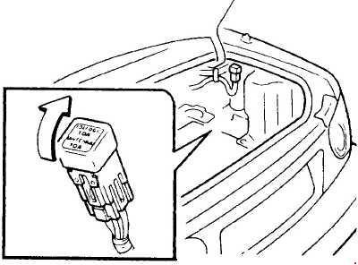 1989–1997 Mazda MX-5 Fuse Box Diagram » Fuse Diagram