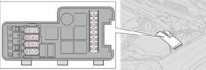 20012009 Volvo S60 and S60 R Fuse Box Diagram » Fuse Diagram