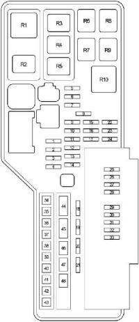 2007-2011 Toyota Camry XV40 Fuse Box Diagram  Fuse Diagram