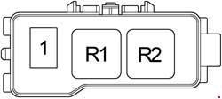 1996-2001 Toyota Camry XV20 Fuse Box Diagram » Fuse Diagram