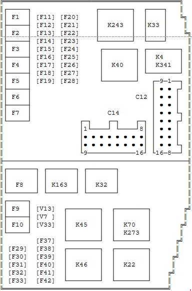 mondeo mk4 abs wiring diagram parts of a comet 2000-2007 ford mk3 fuse box »