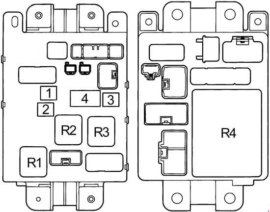 1997 Toyota Rav4 Fuse Box Diagram. Toyota. Vehicle Wiring