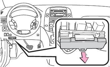 '03-'10 Toyota Sienna Fuse Diagram
