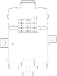 2003-2006 Toyota Tundra Fuse Box Diagram  Fuse Diagram