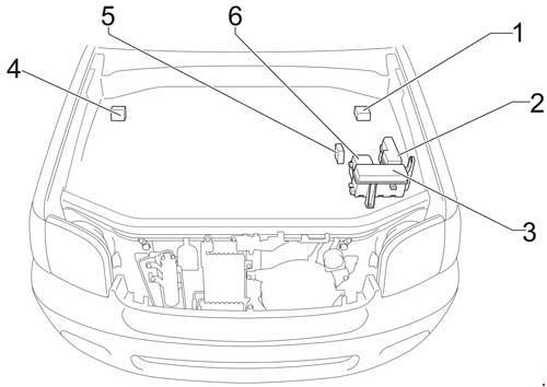 '04-'06 Toyota Tundra Double Cab Fuse Diagram