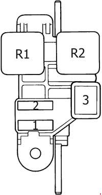 1989-1995 Toyota 4Runner Fuse Box Diagram » Fuse Diagram