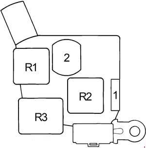 1988-1992 Toyota Cressida (X80) Fuse Box Diagram » Fuse