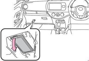 20102017 Toyota Yaris (130) Fuse Box Diagram » Fuse Diagram
