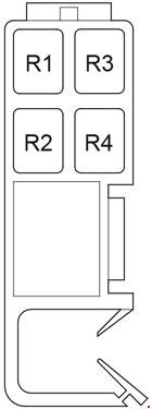 2008-2017 Toyota Venza Fuse Box Diagram » Fuse Diagram