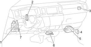20132018 Toyota HiAce (H200) Fuse Box Diagram » Fuse Diagram