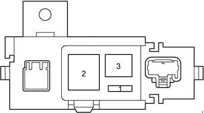 2000-2003 Toyota Prius (NHW11) Fuse Box Diagram » Fuse Diagram