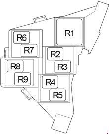 2015-2018 Toyota Hilux Fuse Box Diagram » Fuse Diagram