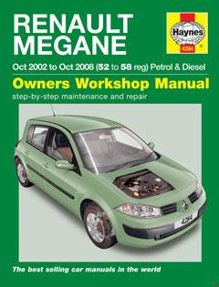 renault laguna 2 wiring diagram cree led light bar 2003 2009 megane ii fuse box petrol diesel oct 02 08 haynes repair manual