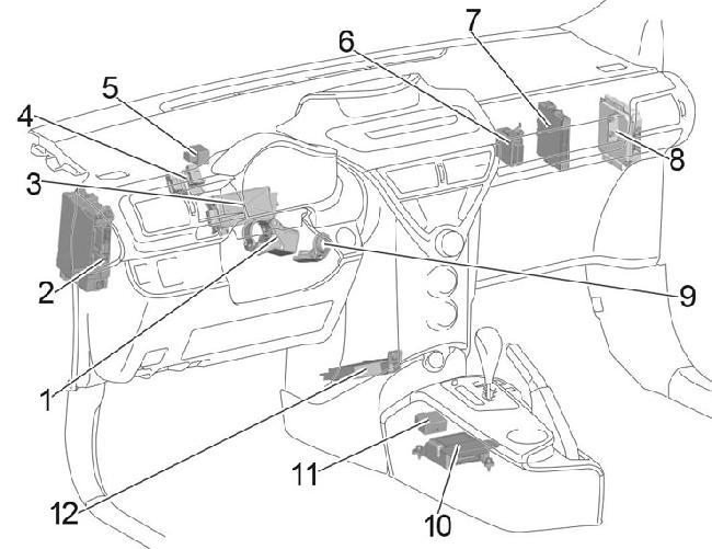 '08-'15 Toyota iQ Fuse Diagram